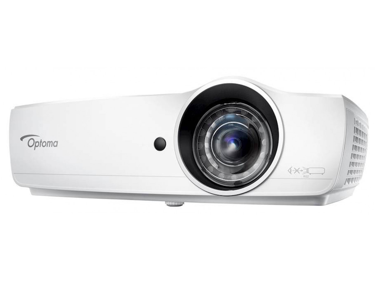 Optoma, EH460ST, Bright, 4200, Lum, 1080p, Short, Throw, Projector,